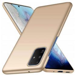 Etui na telefon Samsung Galaxy S20 Plus - Slim MattE - Złoty.