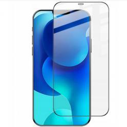 Apple iPhone 12 hartowane szkło 5D Full Glue - Czarny.