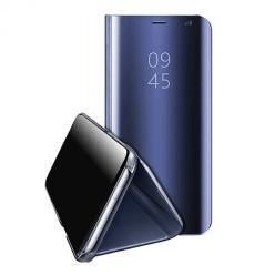 Etui na Samsung Galaxy M11 Clear View z klapką - Granatowy.