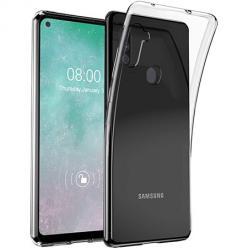 Etui na Samsung Galaxy A11 silikonowe Slim Crystal Case Przezroczyste