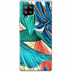 Etui na Samsung Galaxy A42 5G Kolorowa jungla
