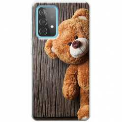 Etui na Samsung Galaxy A52 5G Misio pluszowy