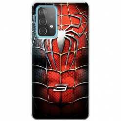 Etui na Samsung Galaxy A52 5G Stalowy spider 3