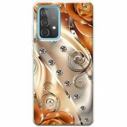 Etui na Samsung Galaxy A52 5G Metaliczne nuty