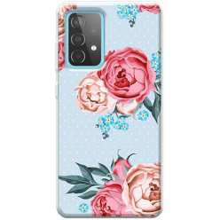 Etui na Samsung Galaxy A52 5G Bukiet tradycyjnych róż