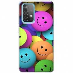 Etui na Samsung Galaxy A52 5G Wesołe kulki kolorowe