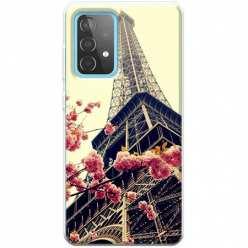 Etui na Samsung Galaxy A52 5G Wieża Eiffla Boho