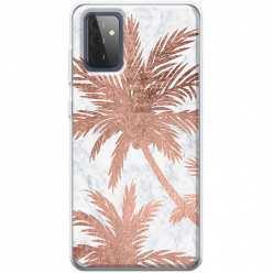 Etui na Samsung Galaxy A72 5G Palmy rose gold