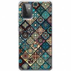 Etui na Samsung Galaxy A72 5G Damaszkowa mozaika