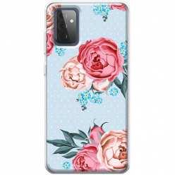 Etui na Samsung Galaxy A72 5G Bukiet tradycyjnych róż