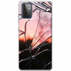 Etui na Samsung Galaxy A72 5G Rozbite szkło