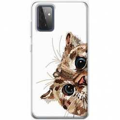 Etui na Samsung Galaxy A72 Wścipski kotek