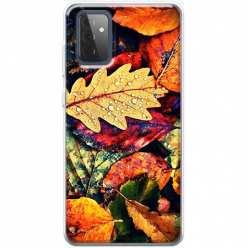 Etui na Samsung Galaxy A72 Jesienne liście