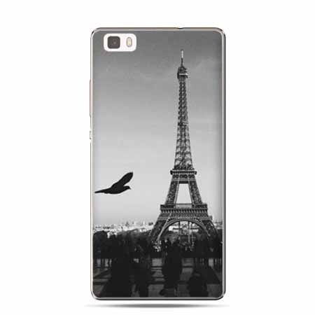 Etui Huawei P8 Lite wieża Eiffla  silikonowe. PROMOCJA!!!