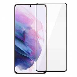 Samsung Galaxy S21 Szkło Hartowane 5D Full Glue Szybka - Czarny