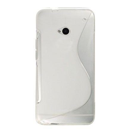 HTC Desire 310 etui S-line gumowe przezroczyste. PROMOCJA!!!