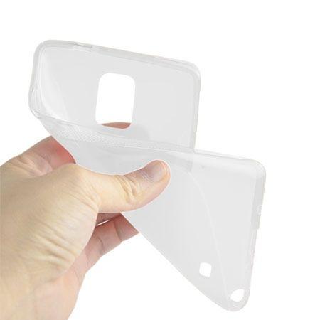 Xperia Z1 compact etui S-line gumowe przezroczyste