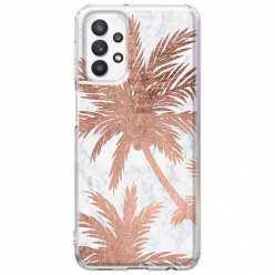 Etui na Samsung Galaxy A32 5G Palmy rose gold