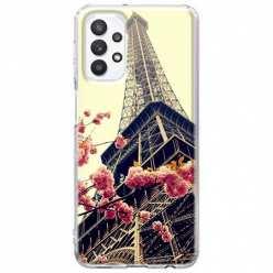 Etui na Samsung Galaxy A32 5G Wieża Eiffla Boho