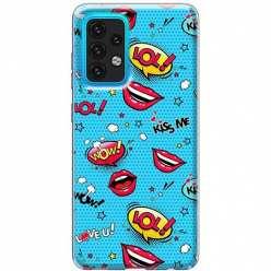 Etui na Samsung Galaxy A02s Kiss Me… LOL! Usta