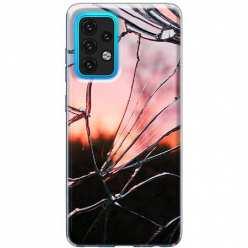 Etui na Samsung Galaxy A02s Rozbite szkło