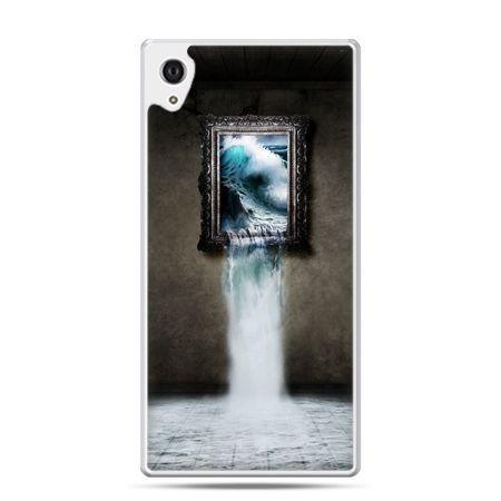 Etui na Xperia M4 Aqua obraz wodospad