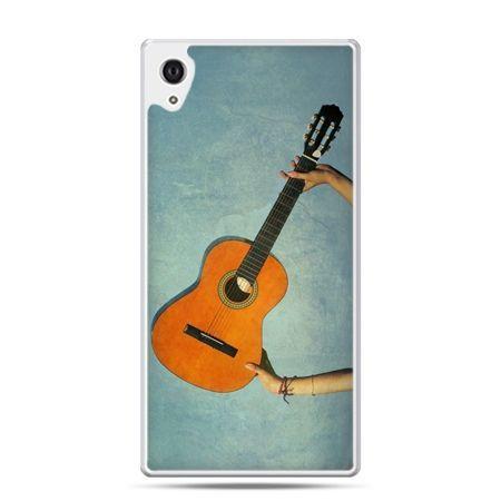 Etui na Xperia M4 Aqua gitara