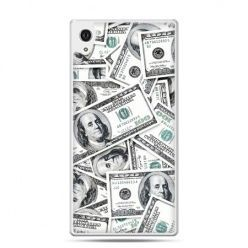 Etui na Xperia M4 Aqua dolary banknoty