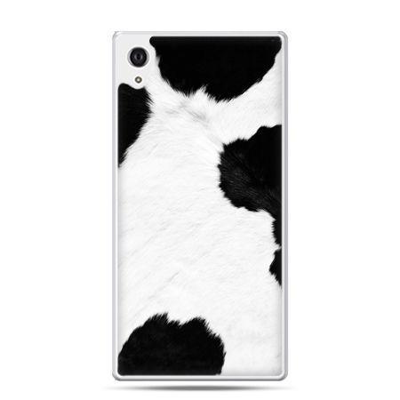 Etui na Xperia M4 Aqua łaciata krowa