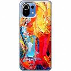 Etui na Xiaomi Mi 11 Lite Paleta kolorowych barw
