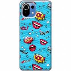 Etui na Xiaomi Mi 11 Lite Kiss Me… LOL! Usta