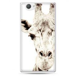 Xperia Z1 compact etui żyrafa