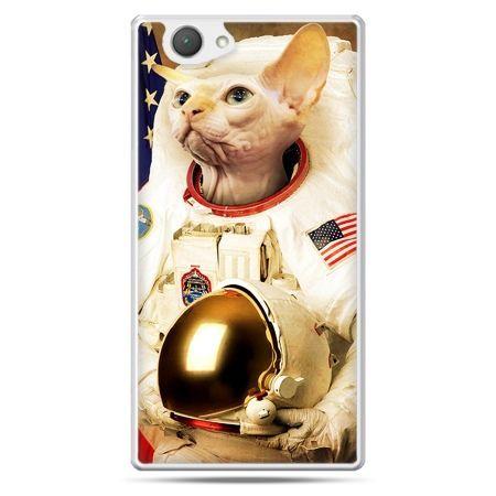 Xperia Z1 compact etui kot astronauta