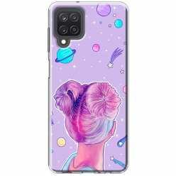 Etui na Samsung Galaxy M12 Galaktyczna dziewczyna