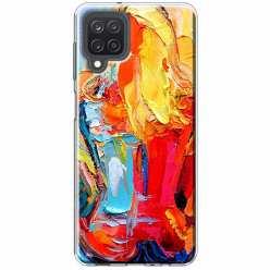 Etui na Samsung Galaxy M12 Paleta kolorowych barw