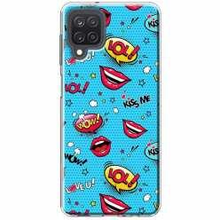 Etui na Samsung Galaxy M12 Kiss Me… LOL! Usta