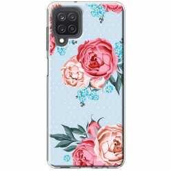 Etui na Samsung Galaxy M12 Bukiet tradycyjnych róż