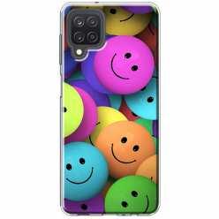 Etui na Samsung Galaxy M12 Wesołe kulki kolorowe