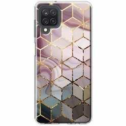 Etui na Samsung Galaxy M12 Geometryczne romby