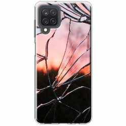 Etui na Samsung Galaxy M12 Rozbite szkło