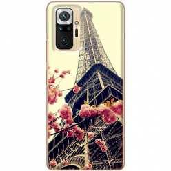 Etui na Xiaomi Redmi Note 10 Pro Wieża Eiffla Boho