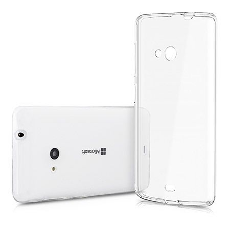 Microsoft Lumia 535 przezroczyste etui crystal case.