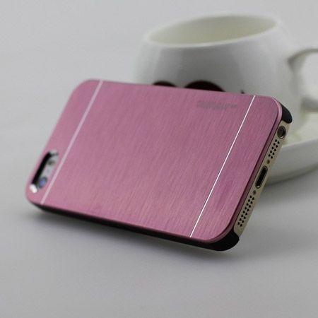 iPhone 6 / 6s etui Motomo aluminiowe różowy. PROMOCJA !!!
