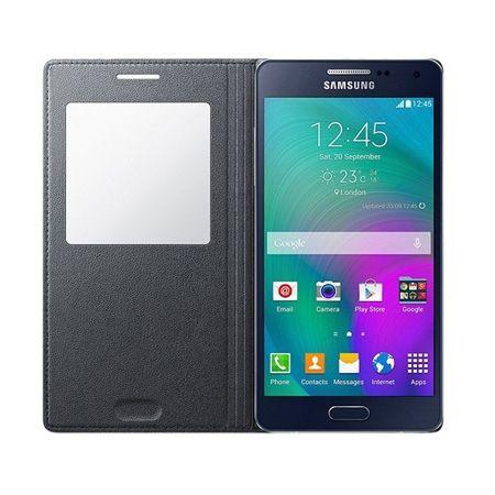 Galaxy S5 etui Flip S View srebrny