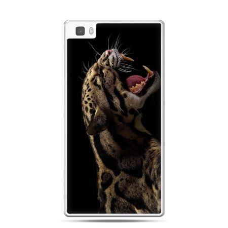 Huawei P8 Lite etui lampart