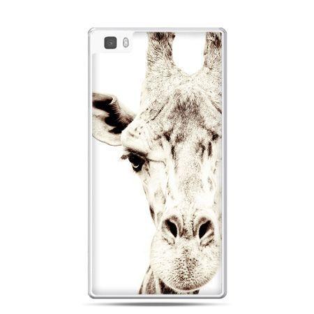 Huawei P8 Lite etui żyrafa