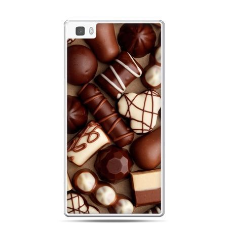 Huawei P8 Lite etui czekoladki