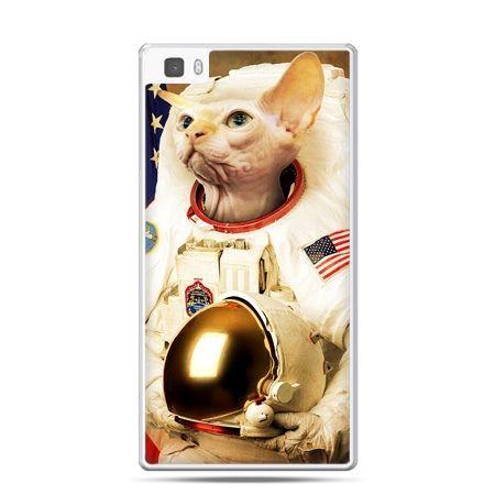 Huawei P8 Lite etui kot astronauta
