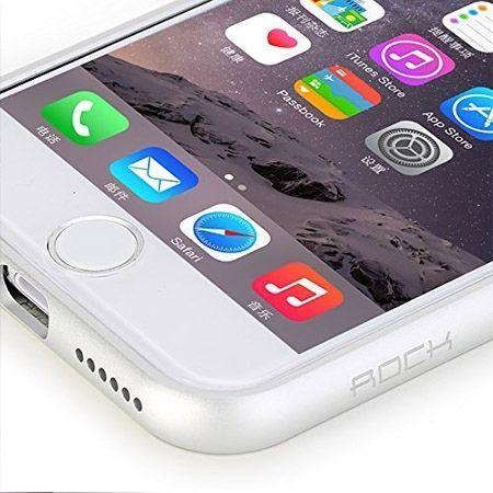 iPhone 6 plus Rock Infinite Eleganckie Srebrne Etui