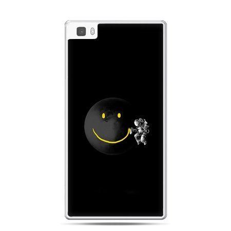 Huawei P8 Lite etui uśmiechnięta planeta